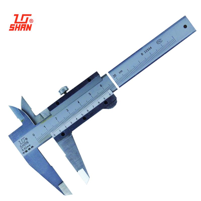 桂量 II型游标卡尺0-200mm