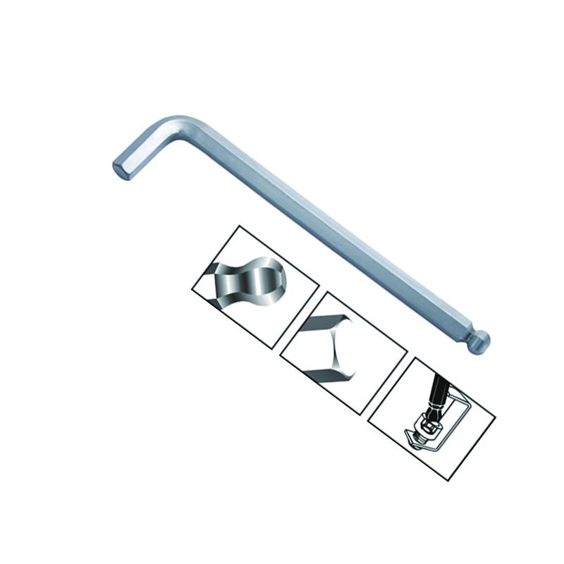 长城 亚光球头特长内六角(3mm(340203))