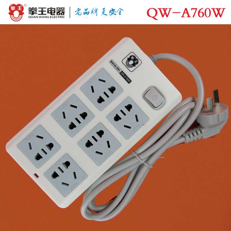拳王 带线插(QW-A760W/3T*1.8米)