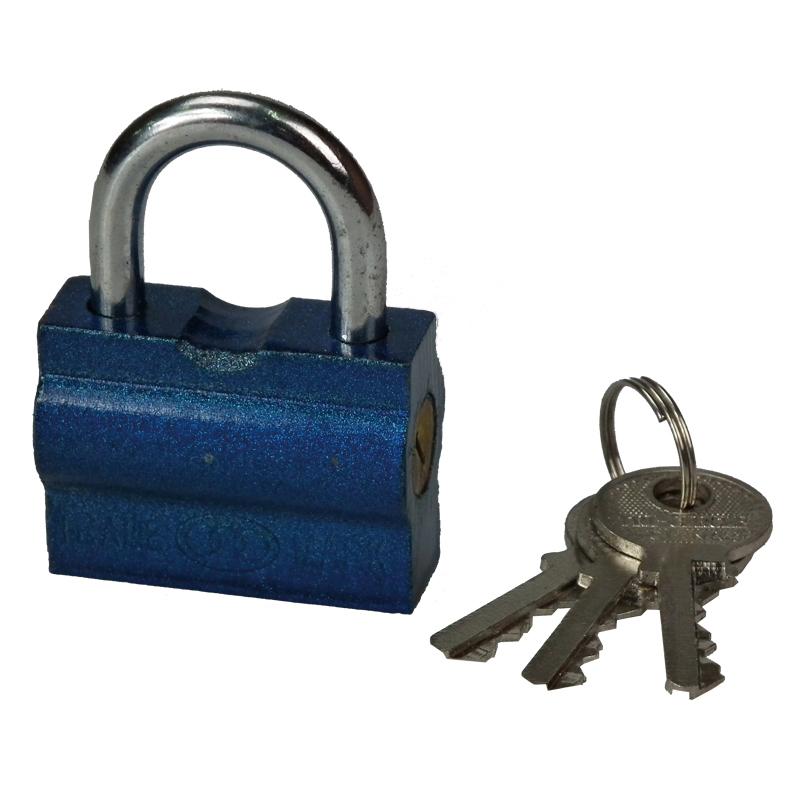 三环 横开铁挂锁(32mm)