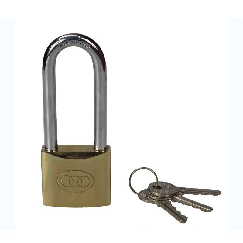 三环 长梁铜挂锁(38mm)