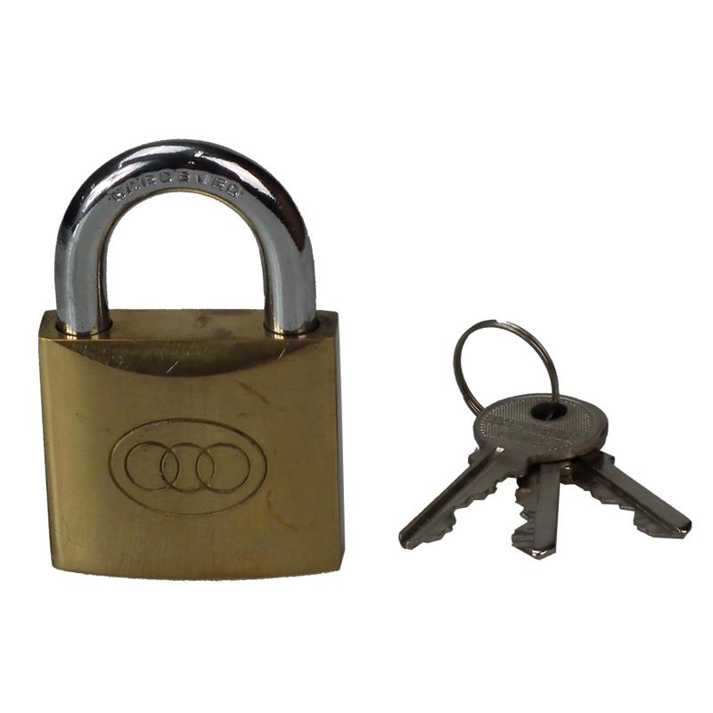 三环 铜挂锁(25mm)