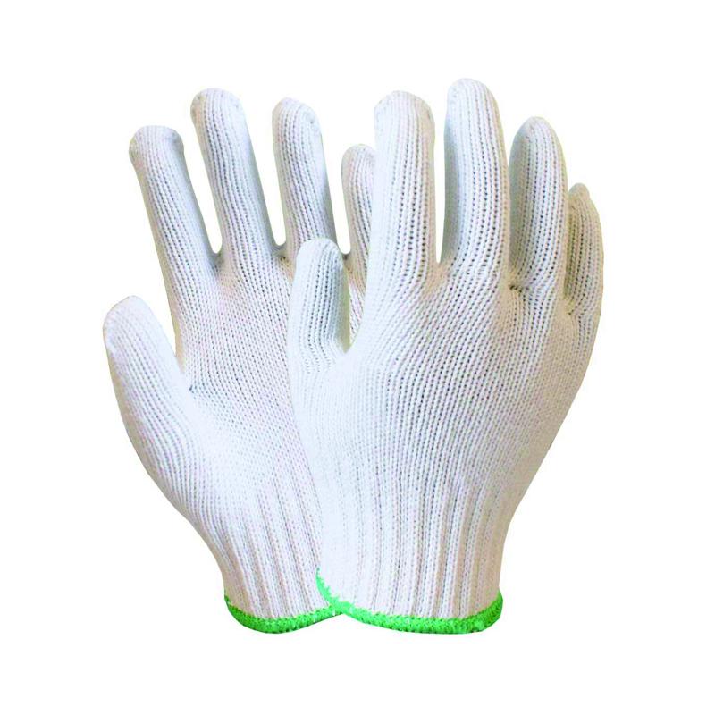 海太尔 0001绿边全棉纱手套 上海(0001)