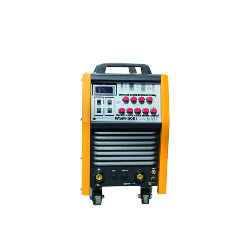 沪工 工业型逆变脉冲直流氩/手焊WSM-500 带附件