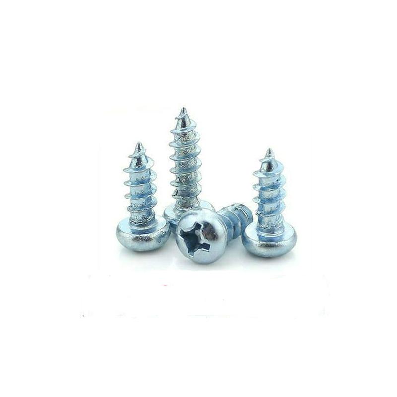 4.8级 镀锌 圆头自攻螺钉 GB845 ( 3*8 )
